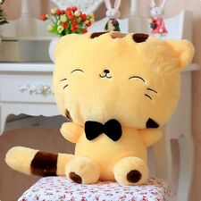 Cute Fortune Cat Kitty Tail Gift Plush Stuffed Toy Soft Doll Cushion Sofa Pillow