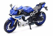NEW RAY  2015 15 YAMAHA YZF R1 BIKE MOTORCYCLE 1/12 BLUE 57803-A