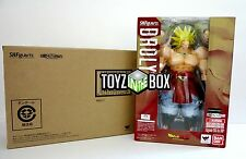 In STOCK S.H. Figuarts Super Saiyan Broly Dragonball Z DBZ Bandai Action Figure