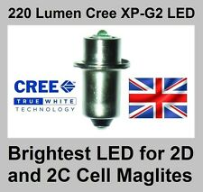 Tts maglite torche cree 3 watt XP-G2 ampoule led conversion upgrade 2 d/c cellule 2d 2c