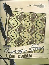Osprey Nest Log Cabin Paper Piecing pattern by Judy Niemeyer