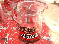 Coca Cola 2 Qt Pitcher Tiffany Stained Glass