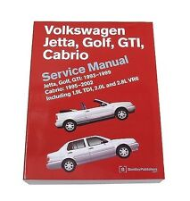 NEW VW JETTA GOLF GTI Bentley Repair Manual 989 54004 243 Service Manual