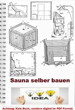 Sauna construire sauna technique sur 690 plans sweatbath brevet collection pdf