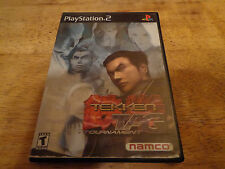 Tekken Tag Tournament Sony Playstation 2 PS2 Complete with Manual
