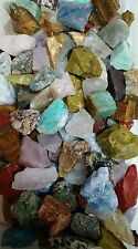 STORAGE CLEANOUT Mix of all Tumbler rocks for Tumbling- 20 Lbs of over 60 types