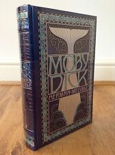 Herman Melville Moby Dick Leather Bound Book