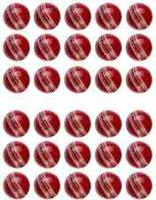 30 Cricket Ball Edible CupCake Toppers / Decorations