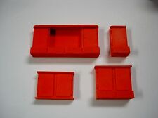 Wall Cabinets-Set of 4 different ones-for your shop/garage/diorama 1/18, 1/24, G