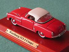 Wartburg 313-1 Coupe  Ixo 1:43 DDR Modellauto Oldtimer Atlas-Verlag OVP Kult
