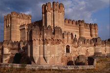 806033 15th Century Castillo brick Gothic Mudejar Style Castilla Y Leon Spain A4