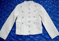 Carbone white jacket size 122