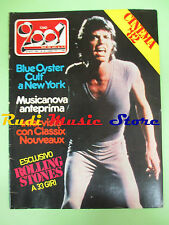 rivista CIAO 2001 38/1981 Rolling Stones Classix Nouveaux Ray Charles  No cd
