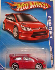HOT WHEELS  2010 ALL STARS CITROEN C4 RALLY RED