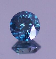 2.02 Carat Round Fancy Blue Color Enhanced Natural Diamond Loose for Ring ASAAR