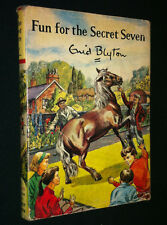 Fun for the Secret Seven by Enid Blyton, HC/DJ Book, 1965, Second Impression
