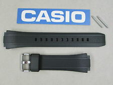 Genuine Casio Edifice EF-552 EF-552PB black resin rubber watch band strap