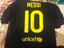 MESSI ARGENTINA ISSUED BARCELLONA 11 12 SIGNED 2011 2012