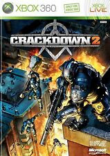XBOX 360 Crackdown 2 Video Game Multiplayer Online Shooter - Adventure 1080p HD