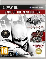 Batman Arkham City - Game of The Year Edition -  (Playstation 3)