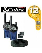Cobra MT975 PMR 12Km Walkie Talkie Quad Pack  - GorillaSpoke, Free P&P IRE & UK!