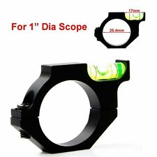 Tactical Anti cant Rifle/Airgun Scope Alloy Spirit Bubble Level for 25.4mm Mount