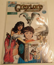 GREYLORE #3 of a 6 Issue Epic! 1986 Sirius Comics