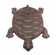 Rustic Turtle Cast Iron Garden Stepping Stone Free Shipping