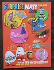 KINDER SURPRISE PARTY BOOK 2012 2013 BENELUX