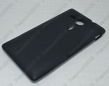 Black Matting TPU Silicone CASE Cover For Sony Xperia SP M35h
