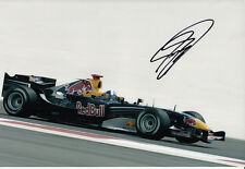 David Coulthard Hand Signed Red Bull Racing Photo 12x8 8.