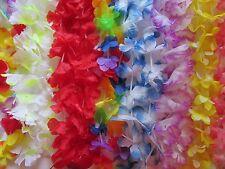 50 Simulated Silk LEIS Lei Hawaiian Luau Party Favors Supplies beach pool party