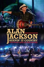 ALAN JACKSON KEEPIN' IT COUNTRY LIVE AT RED ROCKS DVD - NEW RELEASE 2016