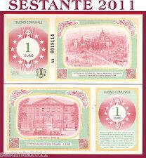 ITALIA  ITALY BUONO D'ACQUISTO -   1 EURO  - OZZANO NELL'EMILIA  FDS / UNC