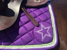 English AP Saddle Pad & Bonnet (Various colors, for horse charity)
