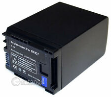 High-Capacity Battery for Canon BP-827 BP-809 Legria HFS10 HFS100 Vixia HFM300