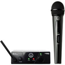 AKG WMS40 Mini Single Vocal Set Wireless Handheld Microphone System Band-C