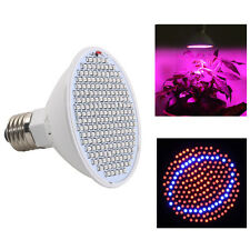 Energy Saving 20W 200LEDs LED Plant Grow Light Bulb Lamp E27 Hydroponic Indoor
