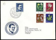 Svizzera - 1960 - Pro Juventute - nn.668/672  - Busta FDC