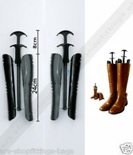 1 Pair Automatic Black Boot Boot Shapers Stand Holder Shoe Tree Stretcher SHORT
