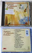 KONSTANTIN WECKER Liederbuch .. 1988 Polydor CD TOP
