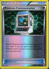 POKEMON BLACK AND WHITE EXPANSION REVERSE HOLO CARD 99/114 POKEMON COMMUNICATION