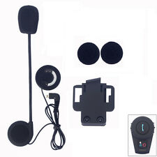 Headset Slim Speaker+Clip Kit for FDC 500m Motorcycle Bluetooth Helmet Intercom