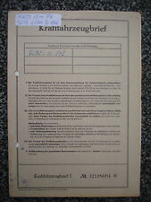 Ford 12M/P4  1,5 ltr  50 PS  Bj.1966  5 Sitzer Schiebedach Datenblatt  Brief  NH