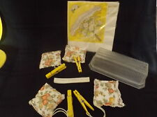 Lot of 70's decorative household items.