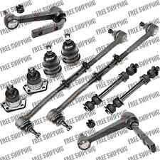 New Steering Kit Tie Rod Ends Ball Joints Sway Bar Link For RWD Chevy Astro Van