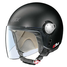 CASCO DEMI-JET GREX G3.1 KINETIC - 2 FLAT BLACK TAGLIA M