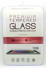 "Genuine Tempered Glass Screen Protector Galaxy Tab 4 7.0"" T230 T231 T235 Wifi"