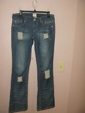 SEXY ARDEN B DISTRESSED  BOOT CUT JEANS  SIZE 6... WOW!!!