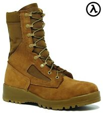 BELLEVILLE 551 ST HOT WEATHER STEEL TOE COMBAT BOOTS * ALL SIZES - (R/W 3-16)
